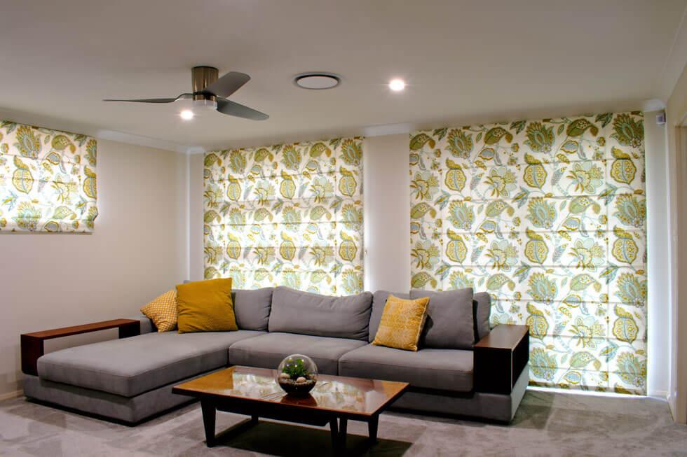 Sitting room blinds
