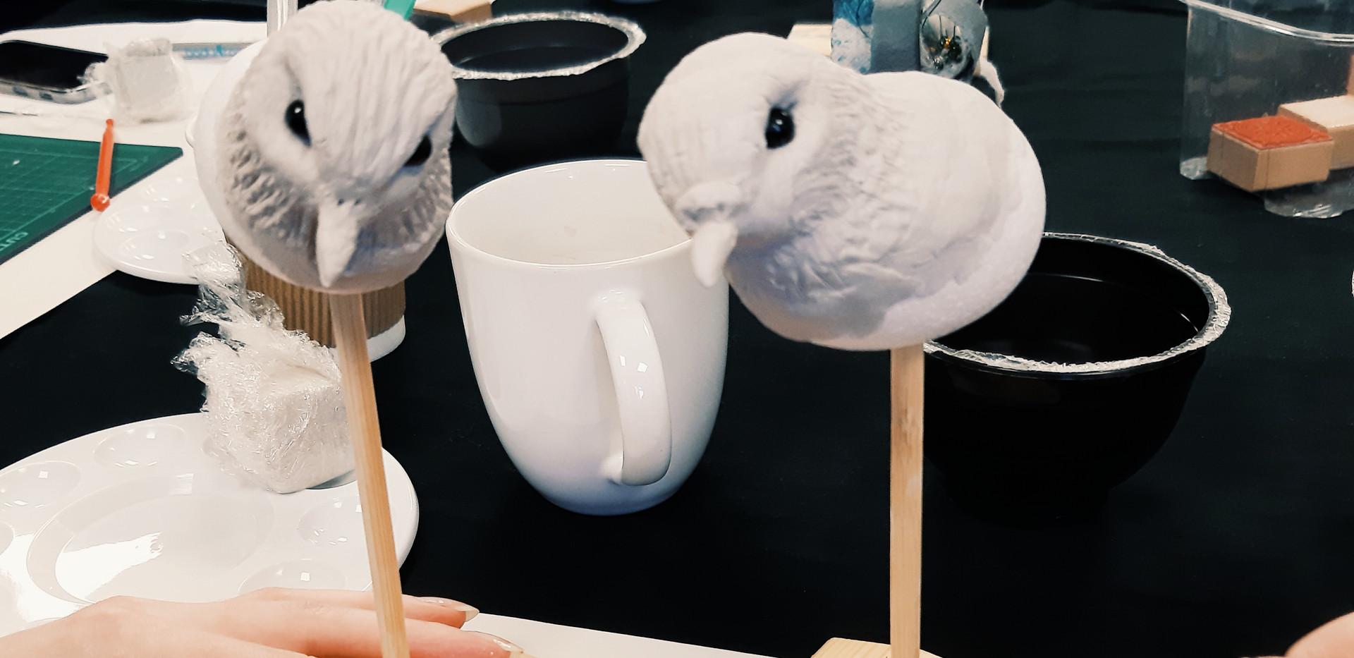Bird Sculpture in progress