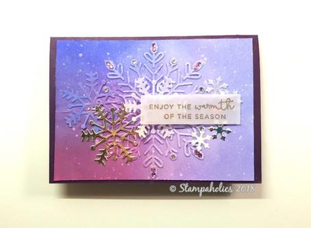 Christmas Snowflake Cards