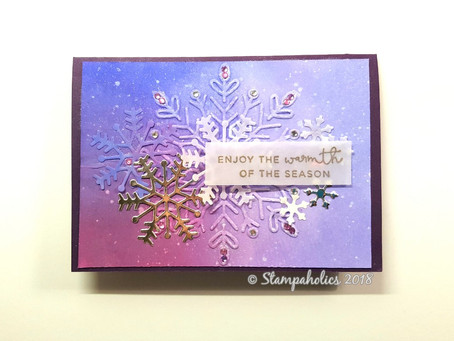 Christmas Snowflake Cards