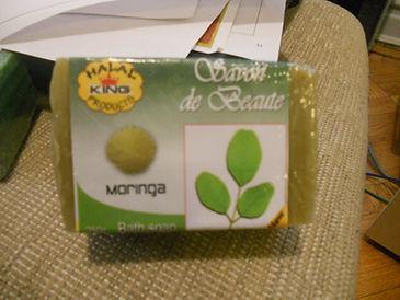 9 oz moringa soap