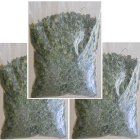 3 Bags of Moringa Leaves 9oz