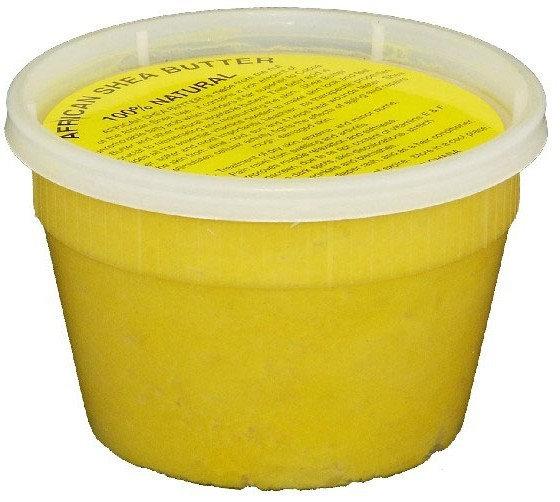 Raw African Shea Butter Yellow 8 oz