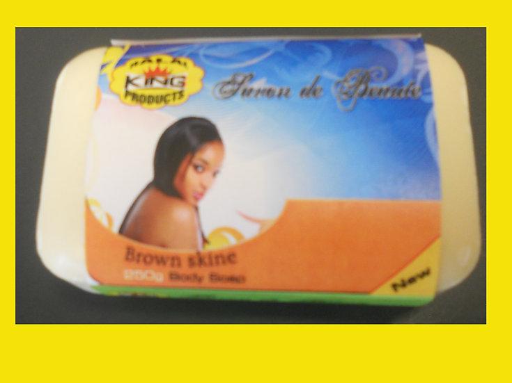 Brown Skin - TURMERIC SOAP 7 oz