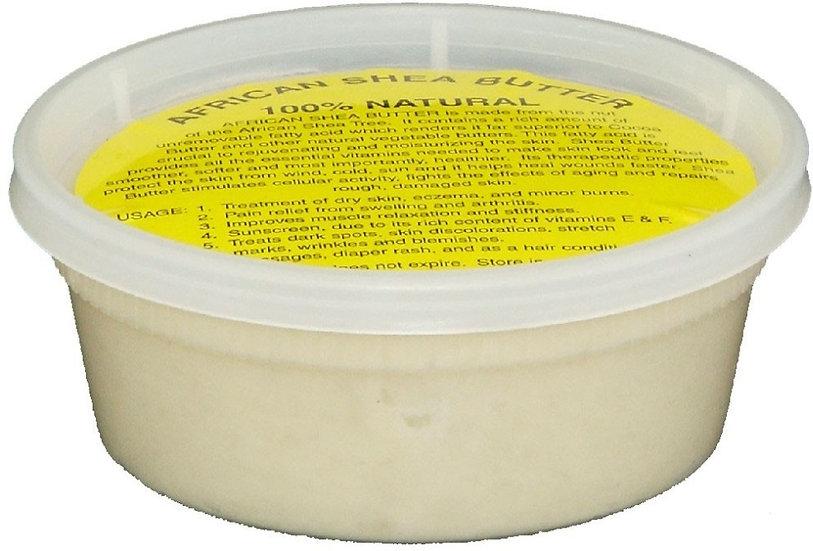 Raw African Shea Butter  White 8oz