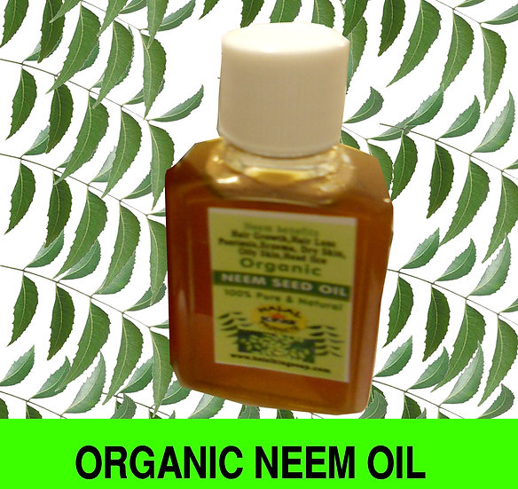 PURE NEEM OIL 2 fl oz