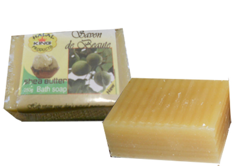 SOLD OUT SHEA BUTTER SOAP  7 oz /LEMONGRASS
