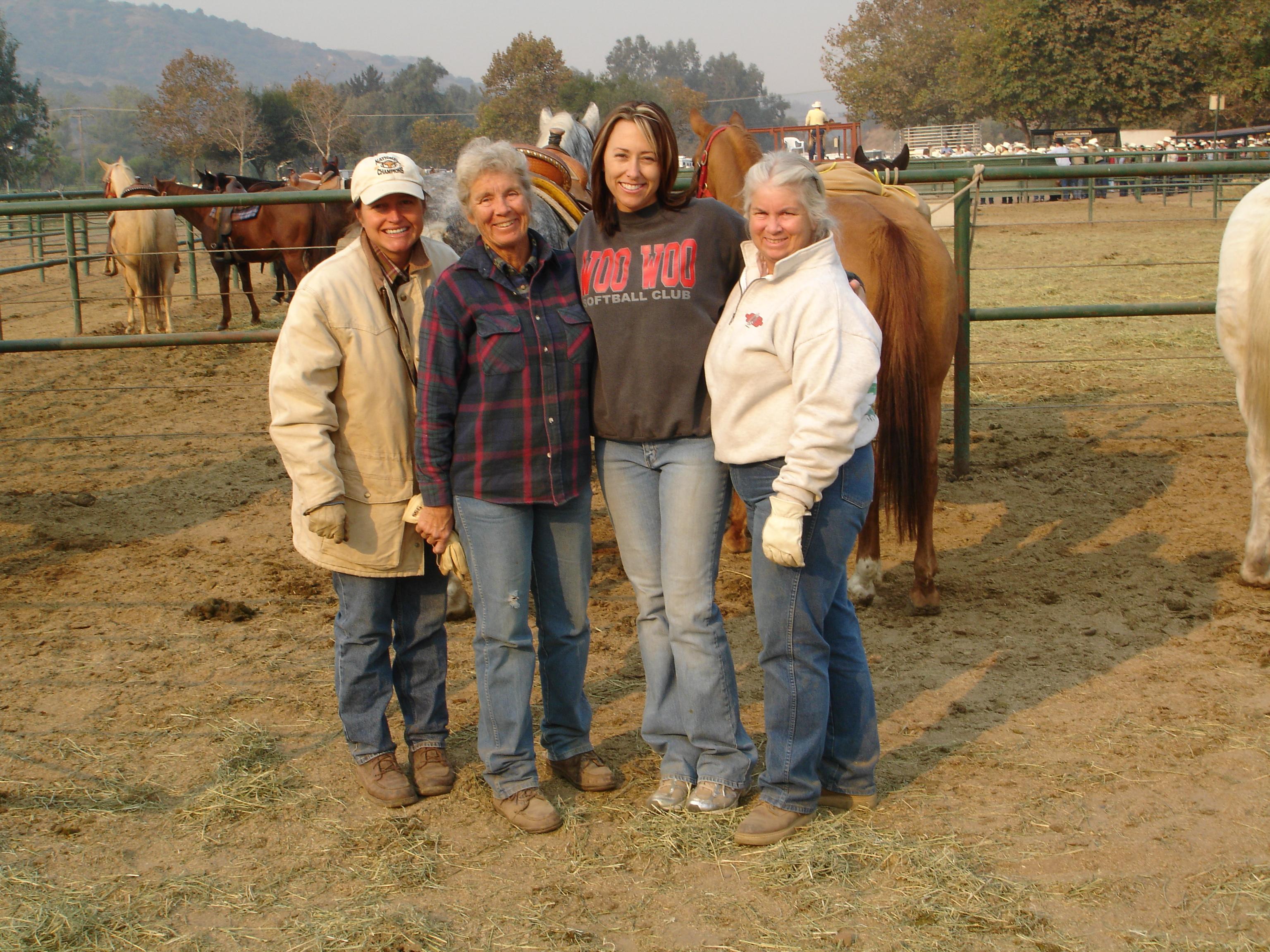 Kristina, Donna, Lucy & Collene