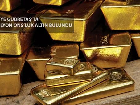 Türkiye Gübretaş'ta 3,5 Milyon Ons'luk Altın Bulundu