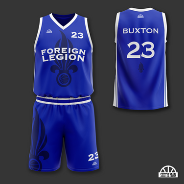 Foreign Legion Basketball
