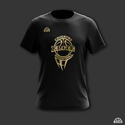 Coventry Elite - Black & Gold Tee