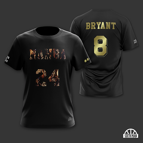 Kobe Bryant Mamba Memorial Tee, Black