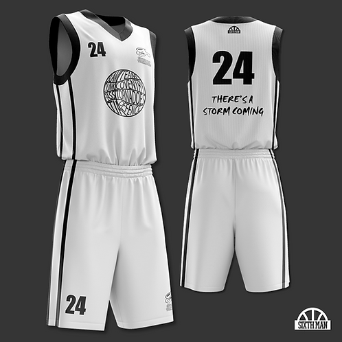 Coventry Tornadoes Playing Kit - WHITE