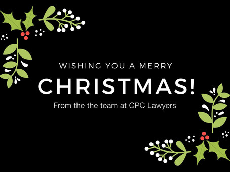 CPC Lawyers Christmas Opening Hours 2019-2020