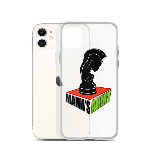 Mama's Army iPhone Case