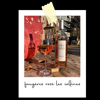 Faugères rosé Les Collines 2019