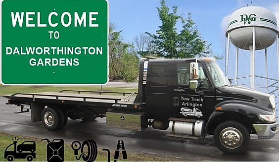 Tow Truck Arlington Towing Dalworthing Gardens