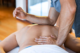 Massage sportif du dos