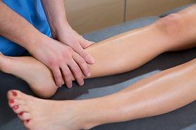 Drainage lymphatique de la jambe