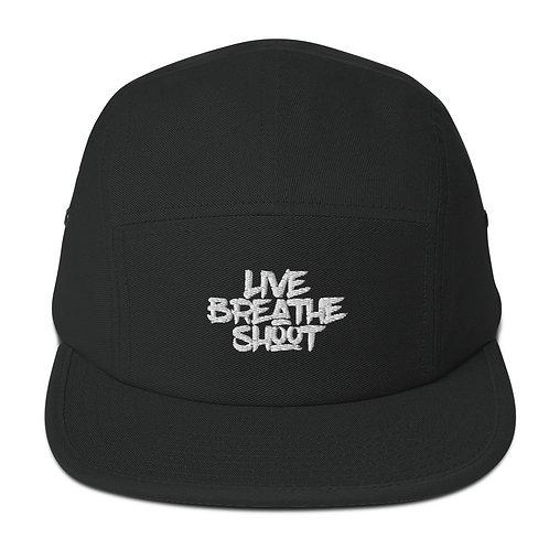 Live | Breath | Shoot - 5 Panel Hat