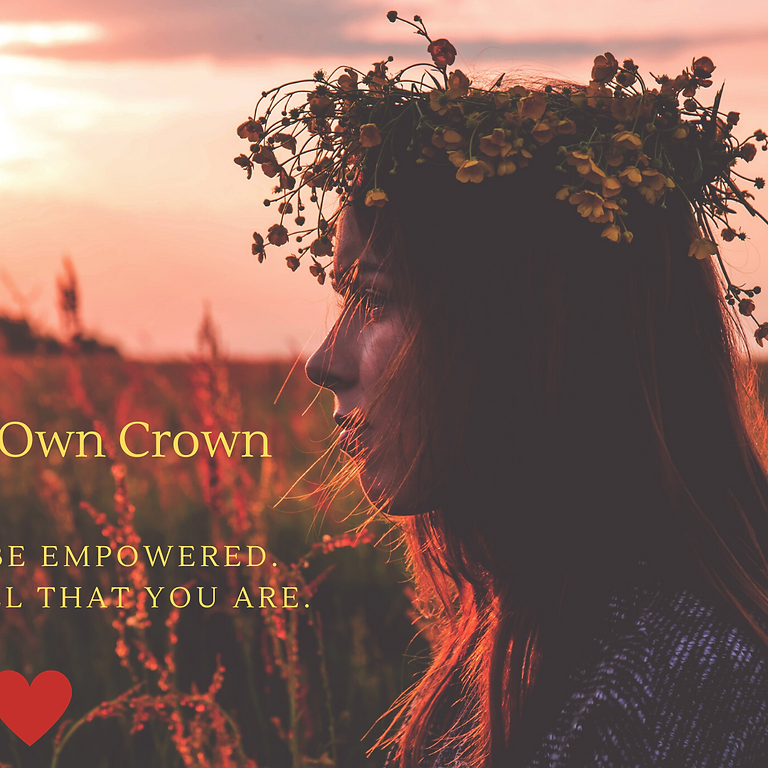 Fix Your Own Crown - Build Your Own Confidence