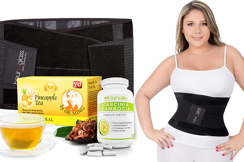Genie HG Plus + Benelife GC + Dr. Ming's Pineapple Tea (15-Pack)