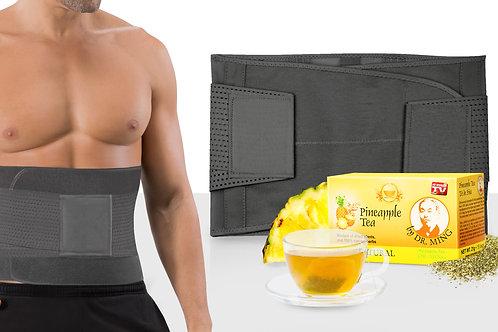 V Shape Trainer Men + Dr. Ming's Pineapple Tea (15-pack)