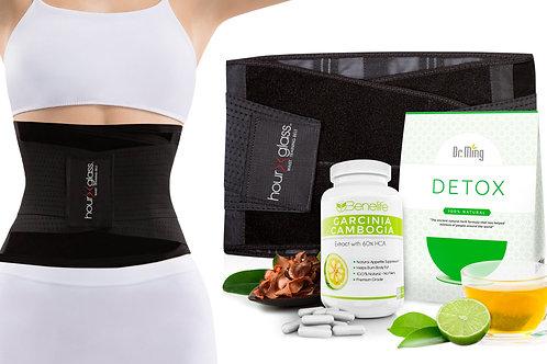 Genie HG Plus (Black) + Benelife GC + Dr. Ming's Detox Tea (20-Pack)
