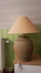 Keramik lampa, 150 kr