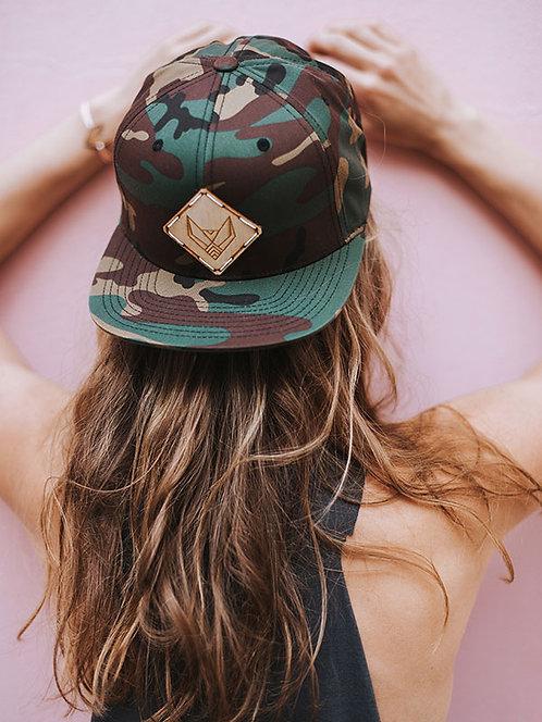 SNAPBACK CAP   CAMO