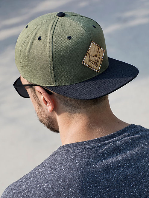 SNAPBACK CAP   OLIVE