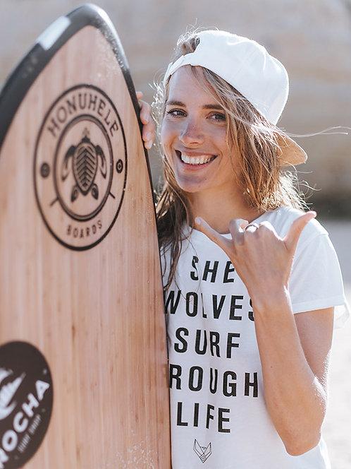 SHEWOLVES SURFER SHIRT