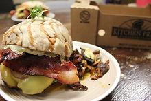 Concha Burger - Blended Burger