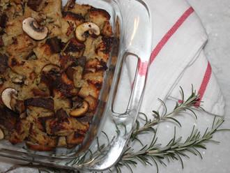 SUPER EASY: 3 Mushroom Sourdough Stuffing