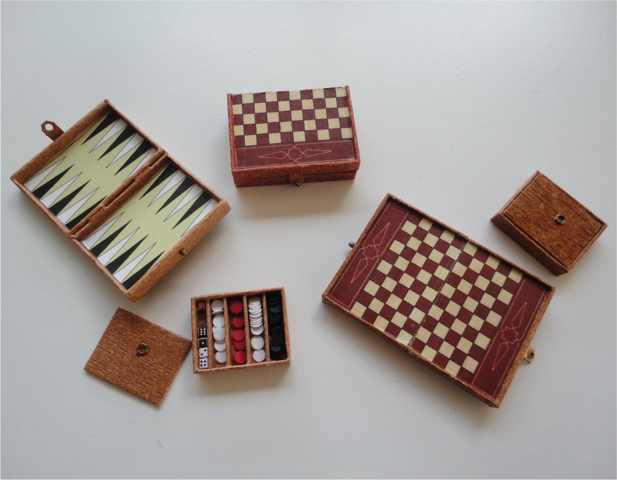 Dames-backgammon 1