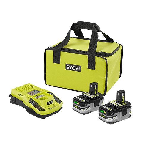 Baterias y cargador Ryobi 18V+