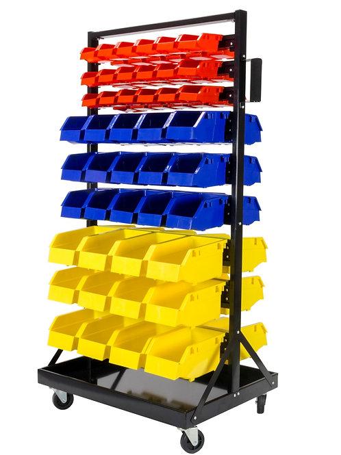 Rack organizador de 90 piezas