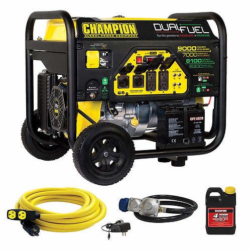Generador Champion 9000 W.