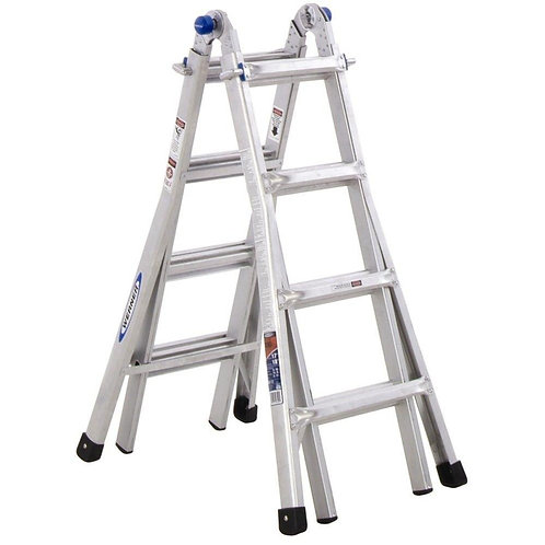 Escalera Multi Posicion Werner 17 ft.
