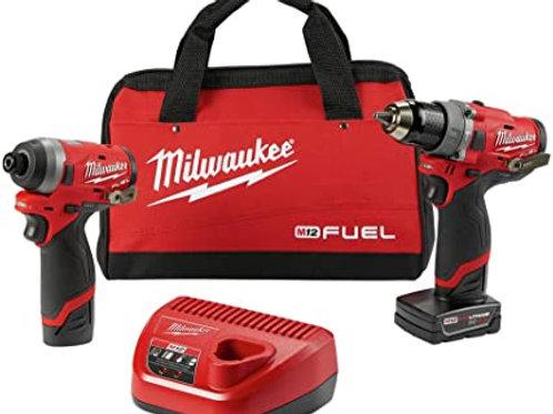 Taladro y Atornillador Milwaukee Fuel 12V 2598-22