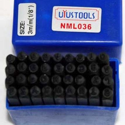Números y Letras para marcar Uyustools