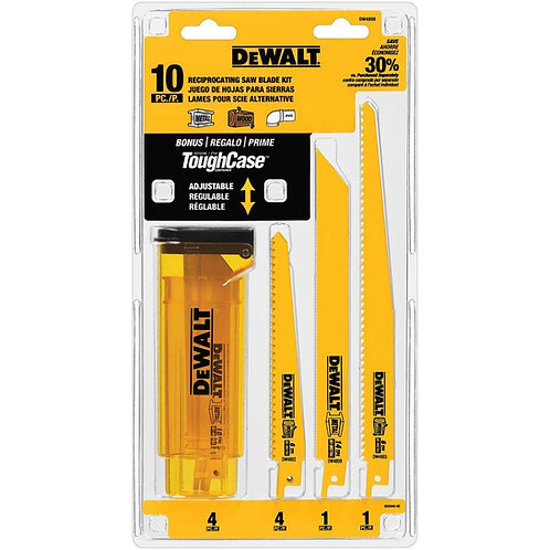 Set 10 PC cuchilla frontal DeWalt