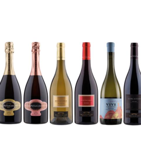 """6 bottiglie - Cassa mista Tenuta del Buonamico:""""LE COLLINE DI MONTECARLO"""""""