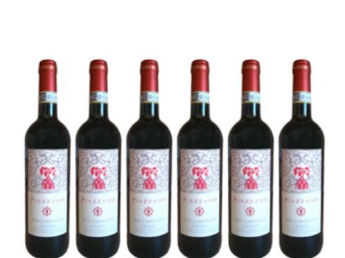 6 bottiglie - Chianti Superiore RIO CAMERATA 2018 - Fattoria di Piazzano