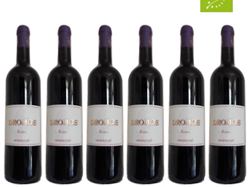 6 bottiglie - Vino Rosso DROMOS 2018 - Maria Baccellieri