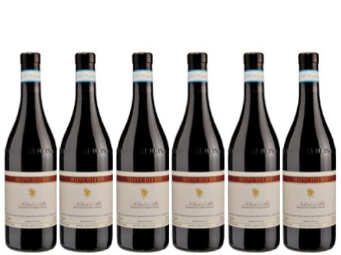 6 bottiglie - Nebbiolo d'Alba 2018 - Monchiero