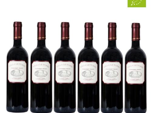 6 bottiglie - Toscana Rosso VILLA LE TORRI 2013 - Sangervasio