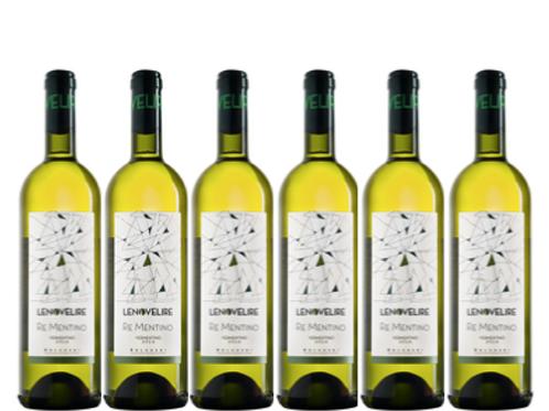 6 bottiglie - Bolgheri Vermentino RE MENTINO 2018 - Le Novelire