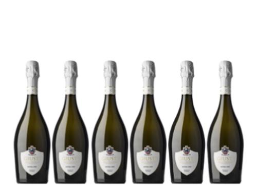 6 bottiglie -  Asolo Prosecco Superiore Extra Dry - Giusti Wine