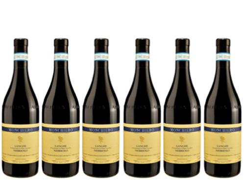 6 bottiglie - Langhe Nebbiolo 2017 - Monchiero